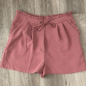 Beautiful semi fancy shorts, worn once!